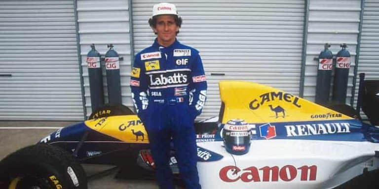 Alain Prost is een Fransman